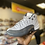 "Thumbnail: Air Jordan 12 - ""White/Dark Grey"" (Sz 7)"