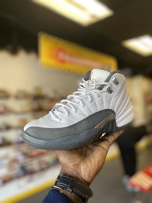 "Air Jordan 12 - ""White/Dark Grey"" (Sz 7)"