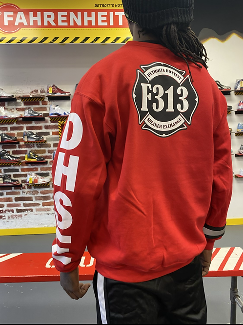 """°F313 DHSE - """"Workers Only"""" Crewneck"""