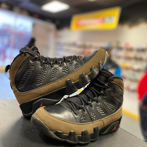 "Air Jordan 9 - ""Olive"" (Sz 9)"