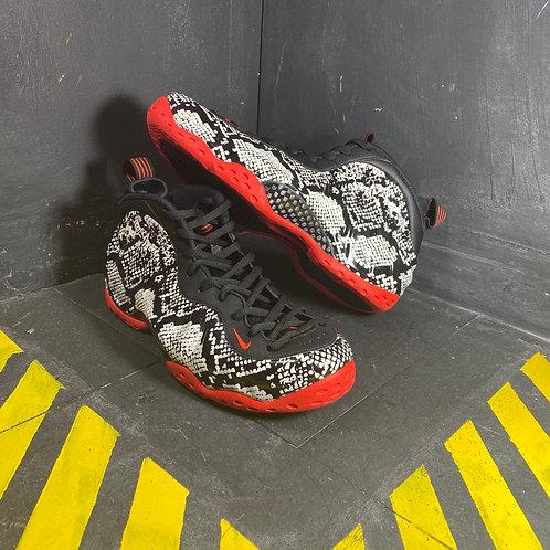 Nike Foamposite - Albino Snakeskin (Sz. 11)