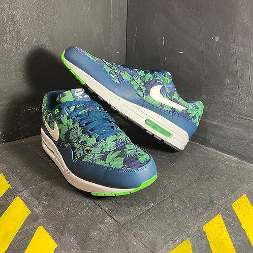 """Nike Air Max 1 - """"Blue Floral"""" (Sz. 12)"""