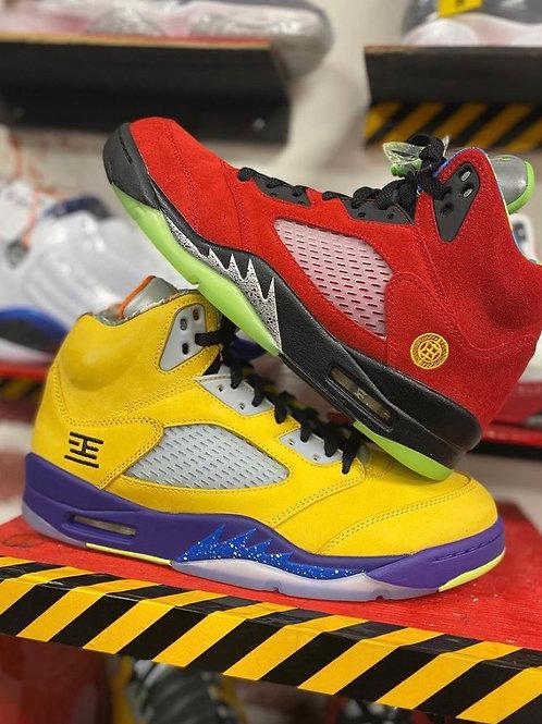 """Air Jordan 5 - """"What the"""" (Sz 8.5)"""