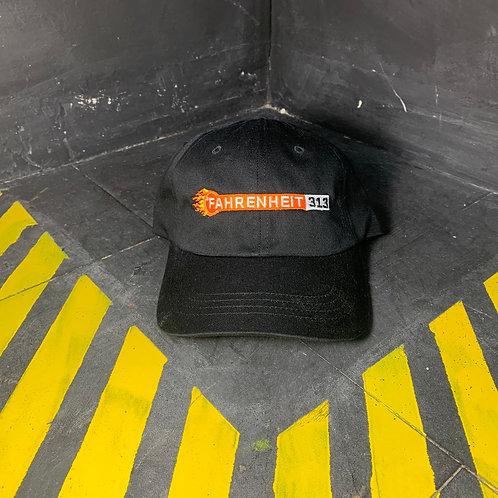 °Fahrenheit 313 - Black Dad Hat
