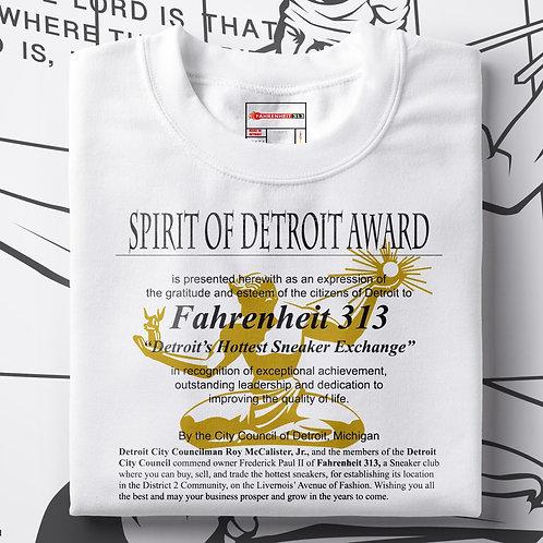 Spirit of Detroit Tshirt