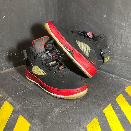 "Jordan 5 Retro Fusion - ""Bred"" (Sz 6)"