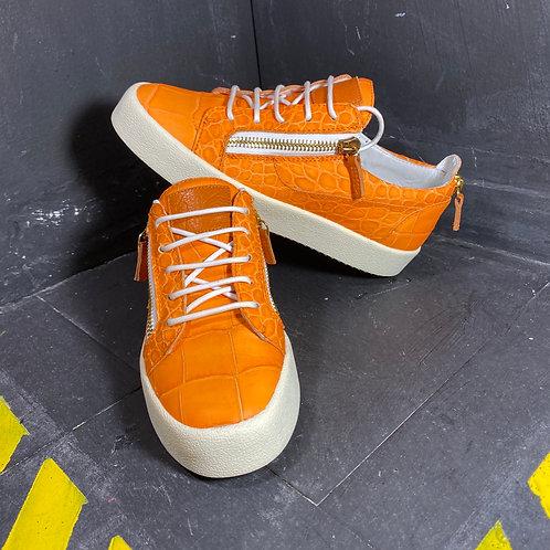 "Giusppe ""Zanotti Orange"" (Size 8.5)"