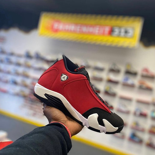"Air Jordan 14 - ""Gym Red Toro"" (Sz 8)"