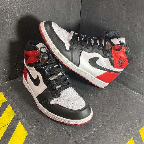 """Air Jordan 1 - """"Black Toe"""" (Sz. 13)"""