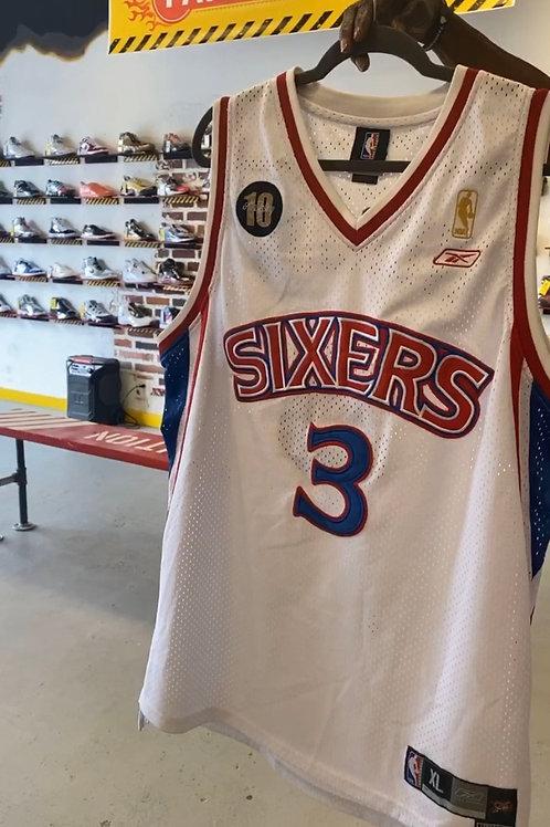 Allen Iverson - Authentic 76ers Jersey (XL)