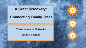 Connecting Family Trees