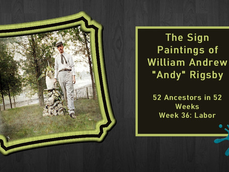 "William Andrew ""Andy"" Rigsby"