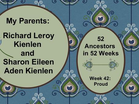 Family Pride: Richard L. and Sharon E. Kienlen
