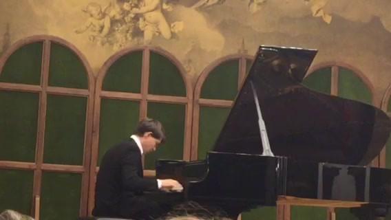 Nathanaël Gouin à la Liszt Academy de Budapest