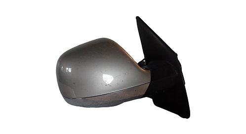 Дзеркало заднього виду: праве, Сірий металік+хром