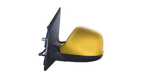 Бокове дзеркало, Ліве, 7 дротів, 1 антена, Жовтий металік