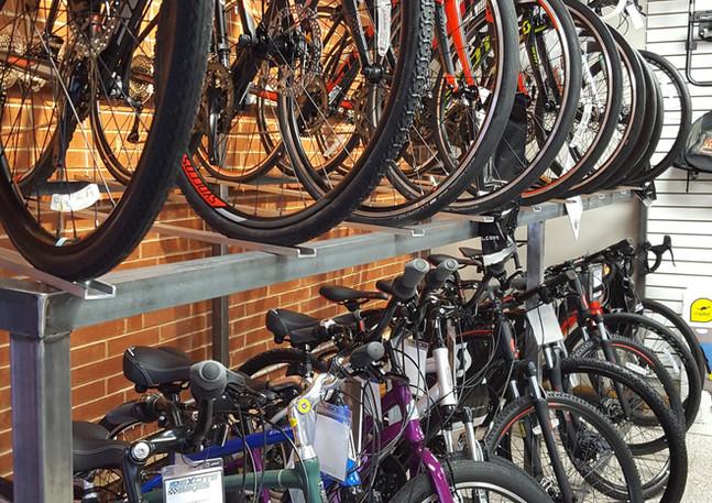 Road Bikes and Cruiser Bikes