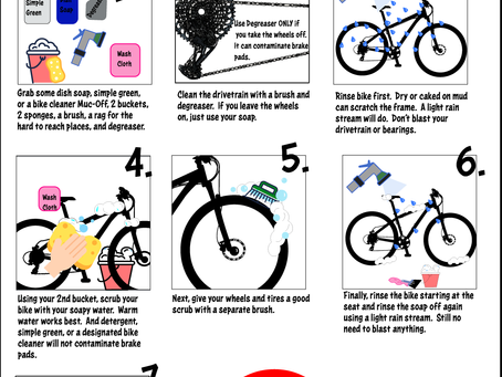 An Illustrated Guide to Washing Your Bike