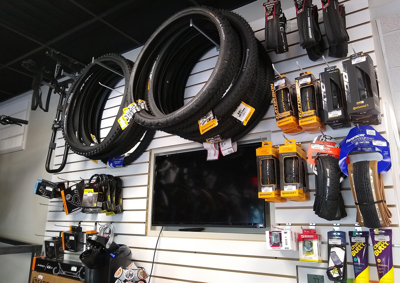 Tires, Computers, & Rack Accessories
