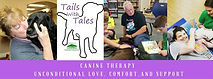 Tails with Tales (Canine Therapy) (Logo)