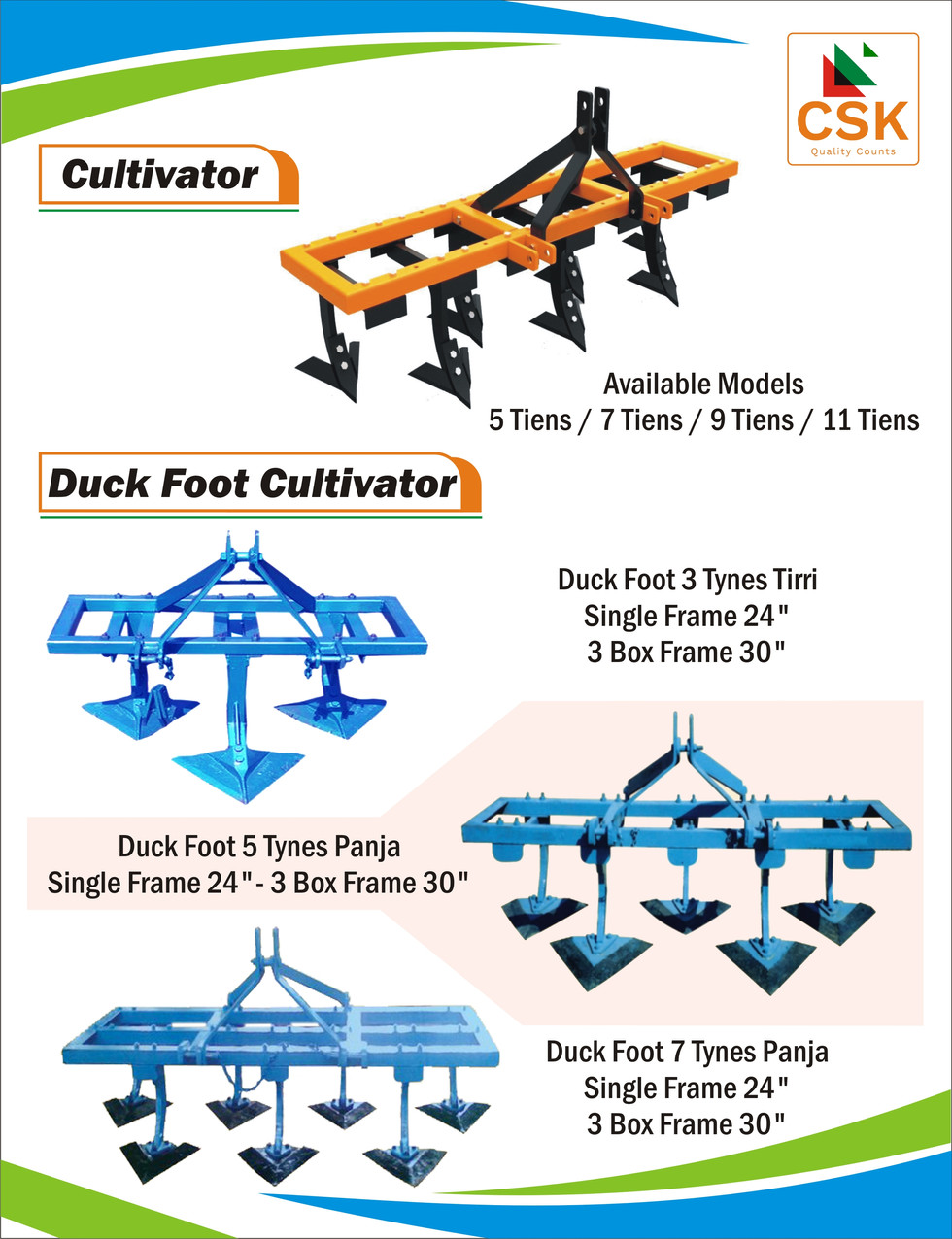 Cultivator-Best for Secondary Tillage