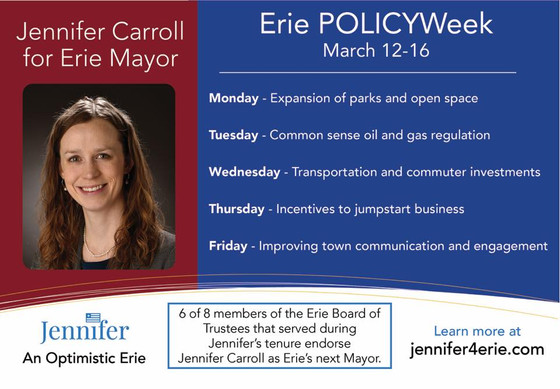 Comprehensive guide on my Erie POLICYWeek positions