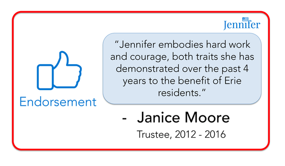 Endorsement from Former Trustee Janice Moore