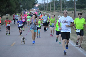 Lincoln County Fair Nebraska Platte River FItness Series 5k run