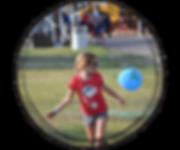 Lincoln County Fair Nebraska Kid Playing with Balloon Kids Agland Day