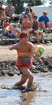 mudapalooza mud volleyball, volleyball, lincoln county fair, fair, north platte, nebraska, ne, sports