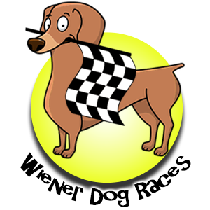 Lincoln County Fair Wiener Dog Dachshund Races Logo