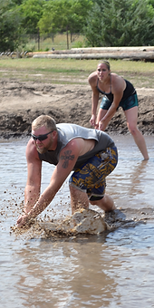 mudapalooza, mud volleyball, volleyball, lincoln county fair, fair, north platte, nebraska, ne
