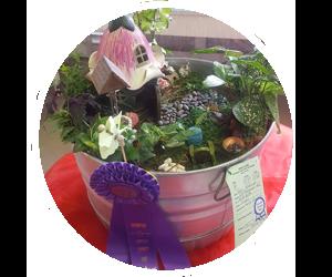 Lincoln County Fair Nebraska 4-H Open Class Static Exhibit Gardening Crafts