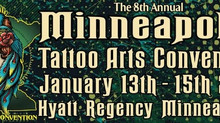 2017 Minneapolis Tattoo Convention!
