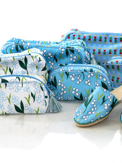 Beauty Bag and Espadrilles