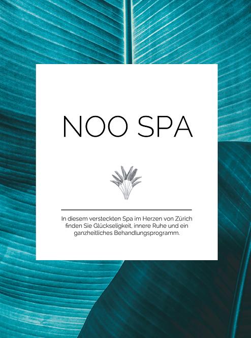NOO SPA - Flyer Design