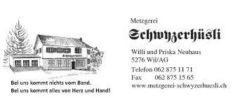 Metzgerei Schwyzerhüsli