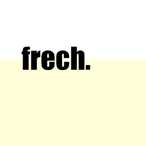 Frech: PR Agentur - Branding & Logo Design