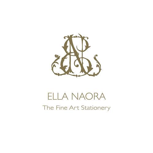 Ella Naora, The Fine Art Stationery - Branding