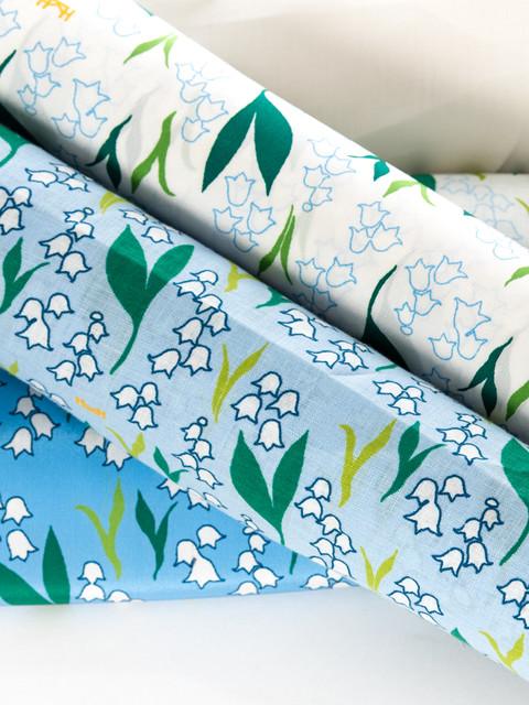 "Tyg/Fabric ""Liljekonvalj"""