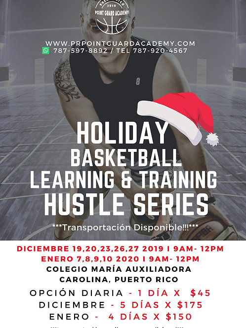 Holiday Basketball Learning & Training  2019 & 2020
