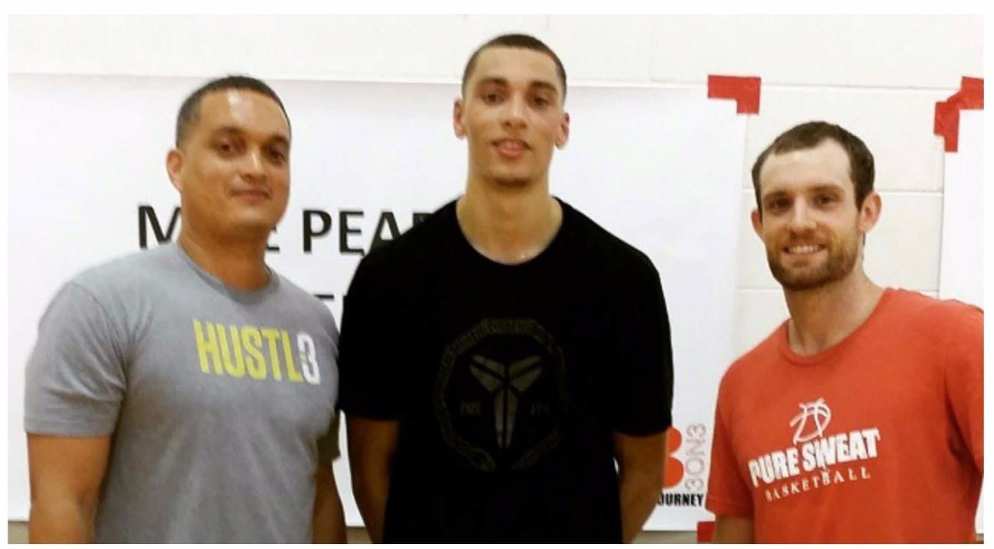 Zack Lavine, GJ Burgos & Drew Hanlen