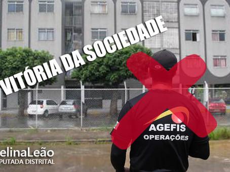 APÓS INTERVENÇÃO DE CELINA GDF RECUA NA DERRUBA DAS CERCAS DA QNJ/QNL