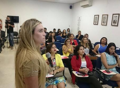 Celina Leão mostra o empoderamento feminino às advogadas de Taguatinga