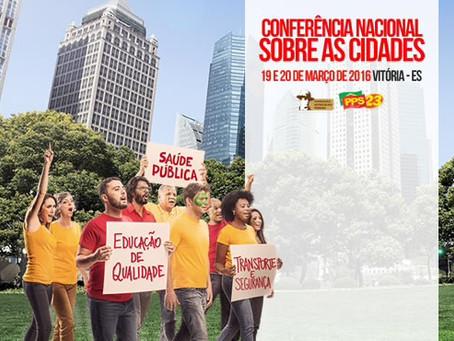 Celina Leão vai à Conferência Nacional sobre Cidades promovida pelo PPS e FAP
