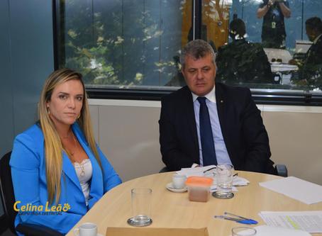 Celina Leão intercede no MPDFT em favor dos superendividados do BRB