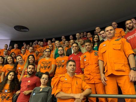 Celina Leão em defesa dos bombeiros militares na Câmara Federal