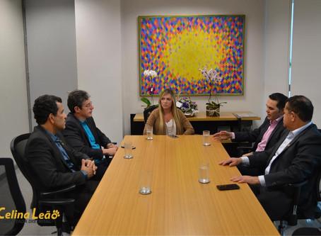 CLDF recebe comitiva de parlamentares da Assembleia de Roraima
