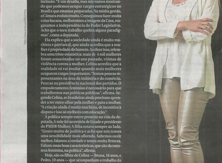 Revista do Correio/Mulheres Maravilhas – Entrevista Dep. Celina Leão
