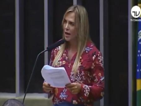 Deputada Celina Leão em defesa das mulheres no Congresso Nacional